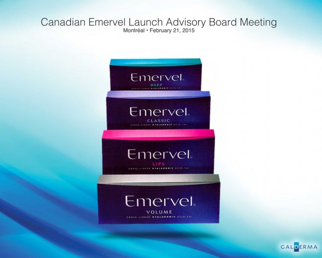 Galderma – Canadian Emervel Launch Advisory Board | Event