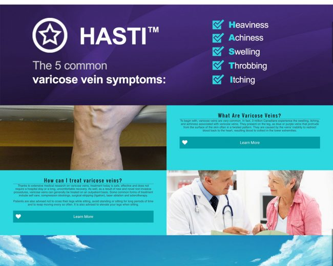 My Varicose Veins Website