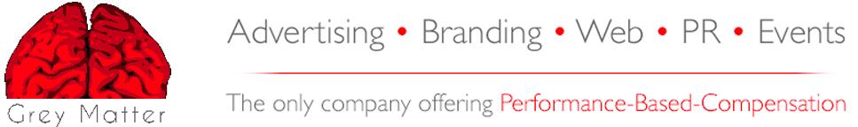 Grey Matter | Communications Agency Toronto | PR Agency Mississauga Logo